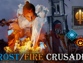 Dragon Age Inquisition: The Frost/Fire Crusader build