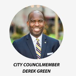 City Councilmember Derek Green