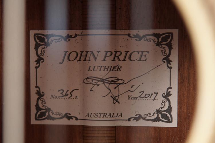 John Price Concert Classical Guitar - 2017
