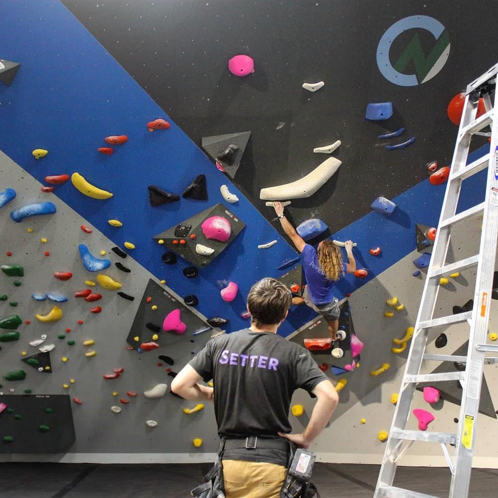 climb nittany, climbing, centre county, rock wall