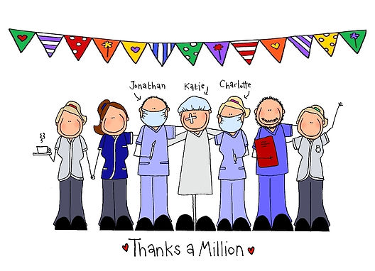 Doctor Surgeon Thank you Card