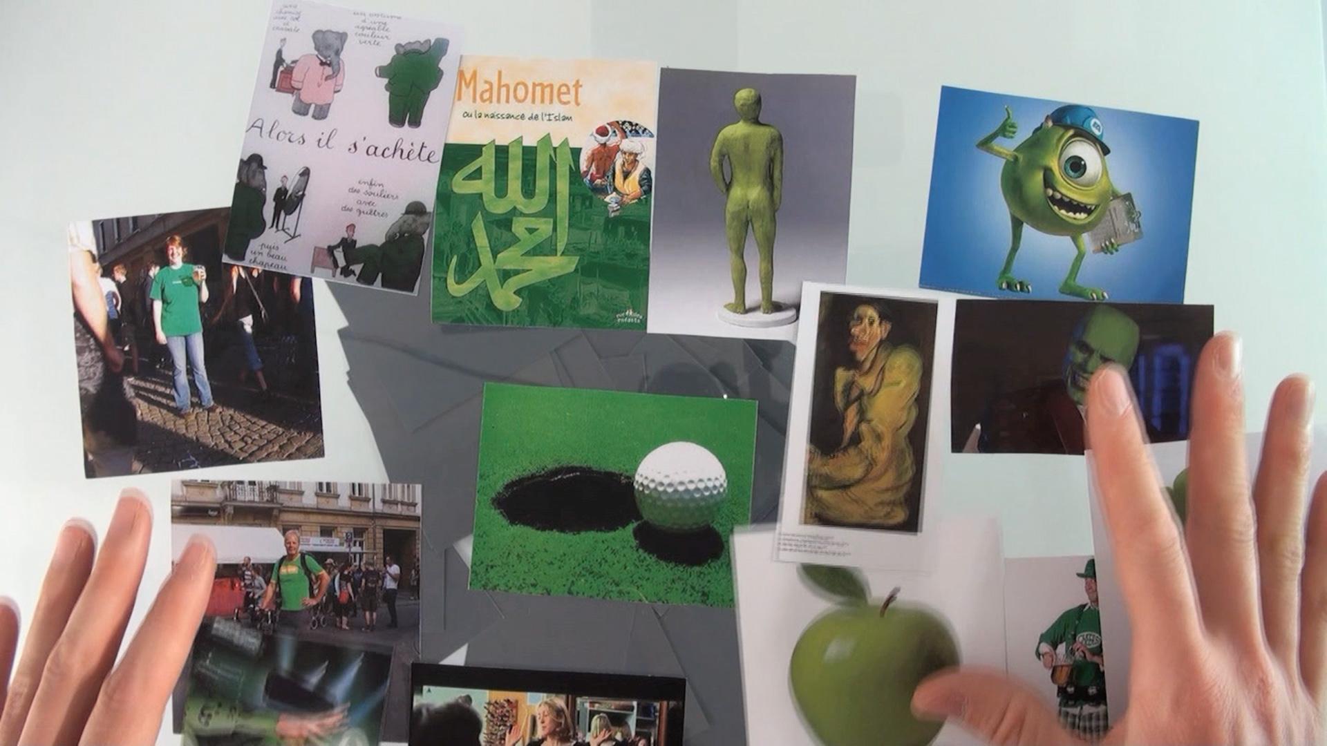 Je suis vert
