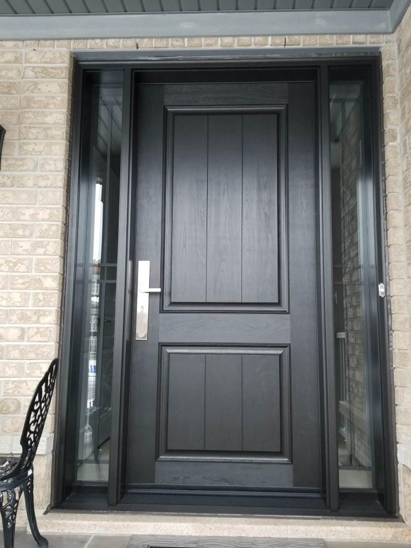 Fiberglass entry doors toronto traditional modern exterior doors for Fiberglass exterior doors canada