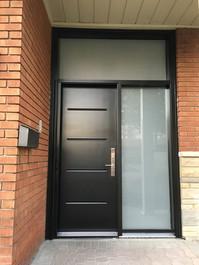 Modern Steel door Linea