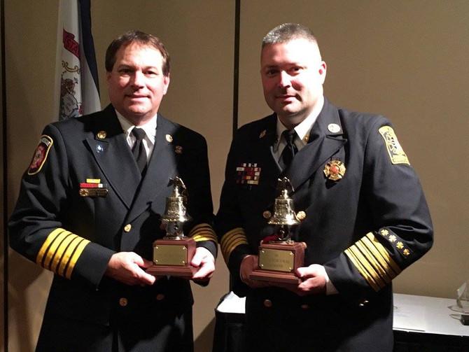 2016 SEAFC Fire Chief of the Year Volunteer Winner