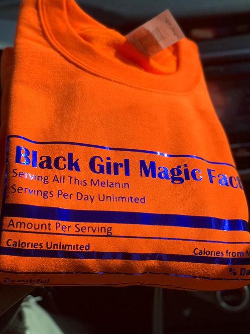 Black Girl Magic Crewneck/Hoodie