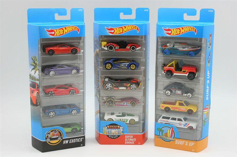 HOT WHEELS 5 Car Pack Assortment