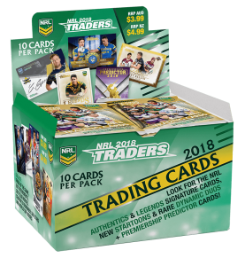 NRL 2018 Traders BOX
