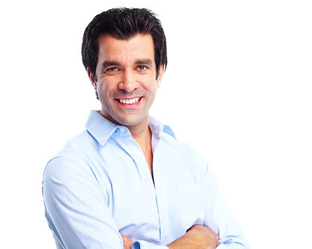 Handsome smiling man. Isolated over white background.jpg