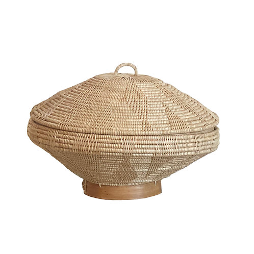 Beehive Rattan Basket
