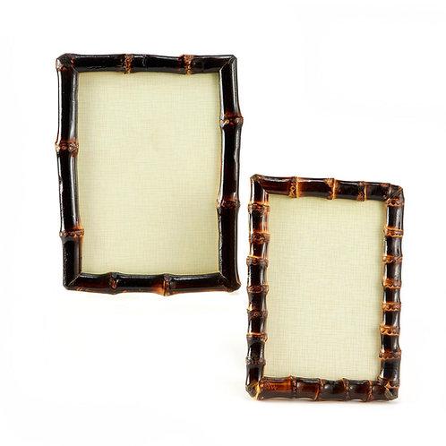 Bamboo Photo Frames, set of 2