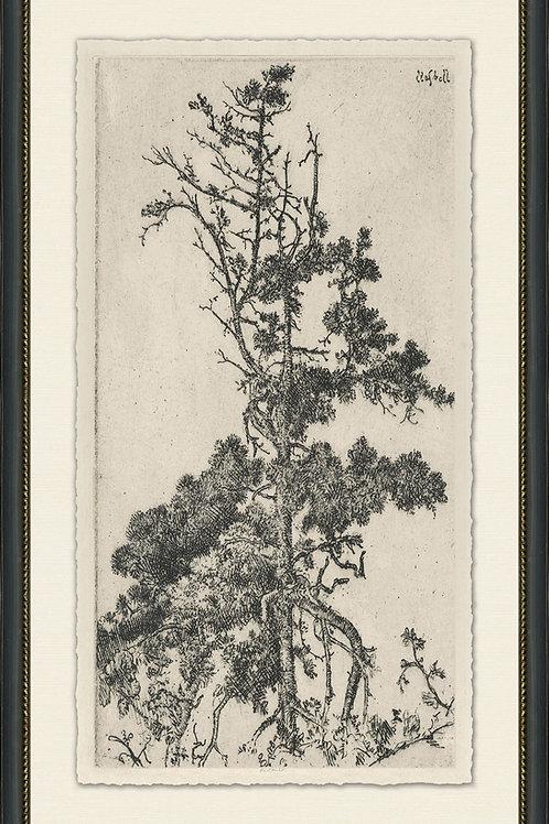 Vintage Tree Scene 1