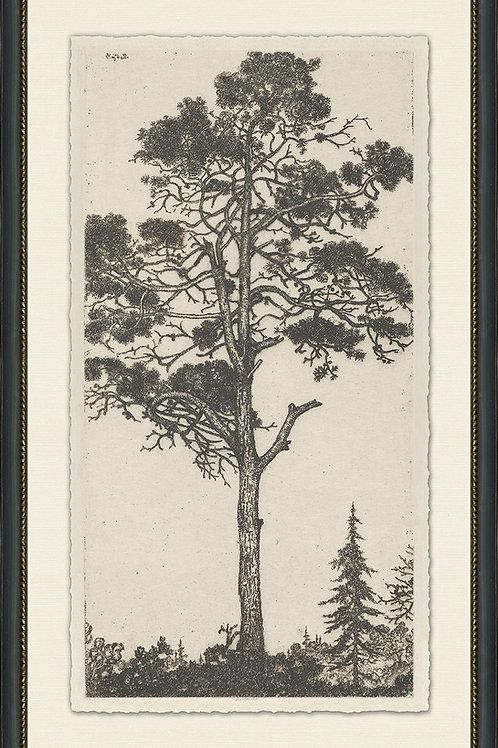 Vintage Tree Scene 2