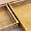 Thumbnail: Natural rattan trays - set of 3