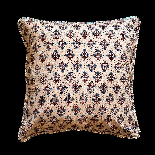 Petite Bloom Block Print Pillow