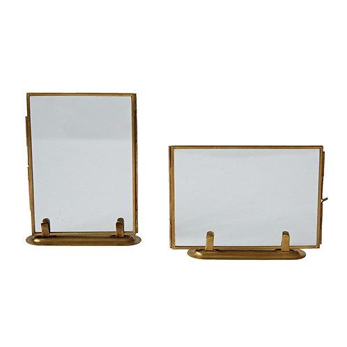 "Brass Frame - 5"" x 7"""
