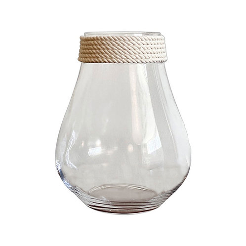 Clear Rope Vase