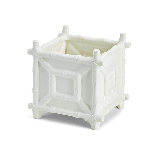 Faux Bamboo Cachepot