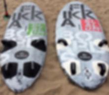slalom custom line flikkaboards