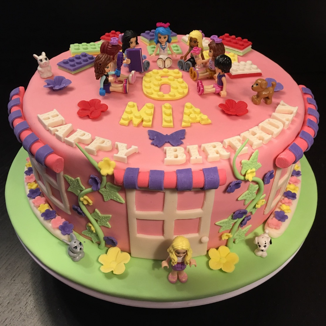 How To Make Lego Friends Birthday Cake