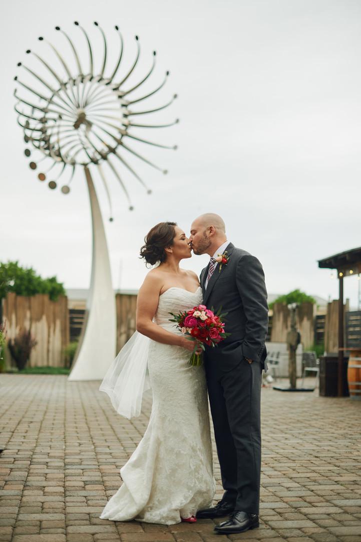 Foundry Vineyards Wedding: Lucy + Rene