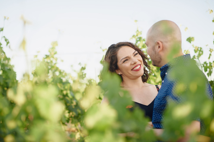Basel Cellars Engagement Session: Lucy + Rene