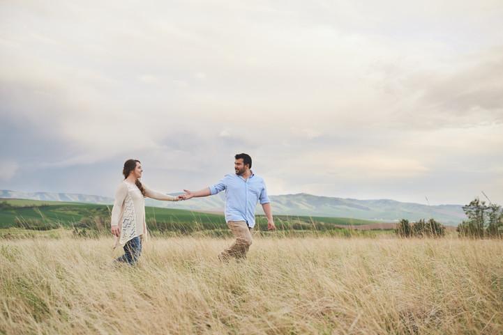Bennington Lake Engagement Session: Alicia + Emmanuel