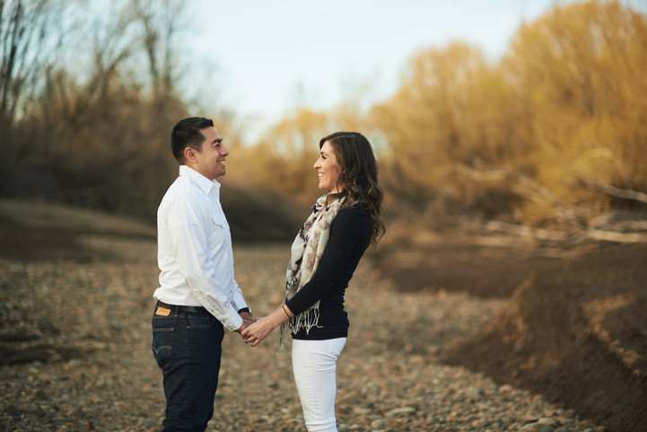 Early Spring Engagement Session: Gina + Miguel