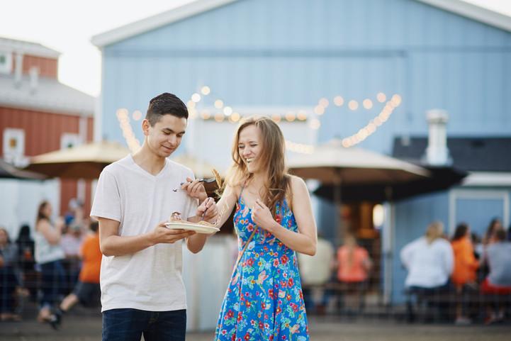 Walla Walla Summer Engagement Session: Sarah + Austin