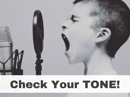 Check Your Tone