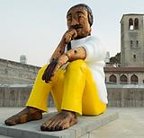 2020 Nov_The Leonard Peltier Statue by R
