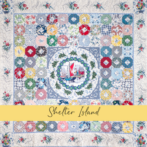 Shelter Island Paper and Template Pack