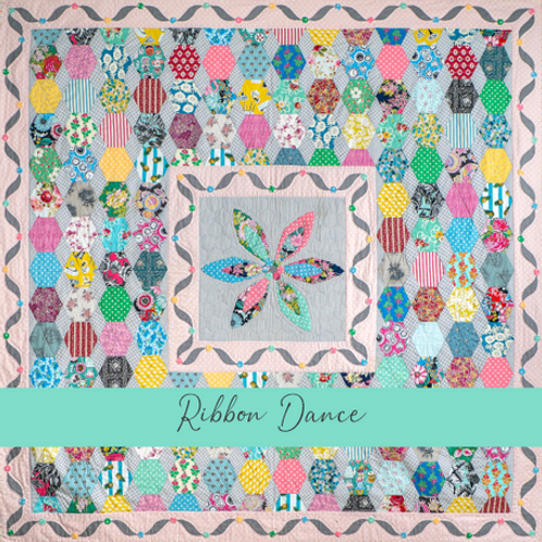 Ribbon Dance Paper and Template Pack