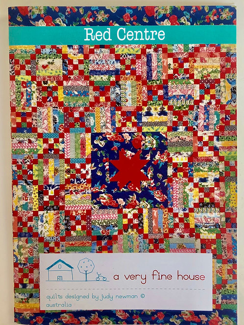 Red Centre Quilt pattern