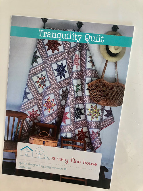 Tranquility Quilt Pattern