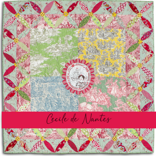 Cecile de Nantes Paper and Template Pack