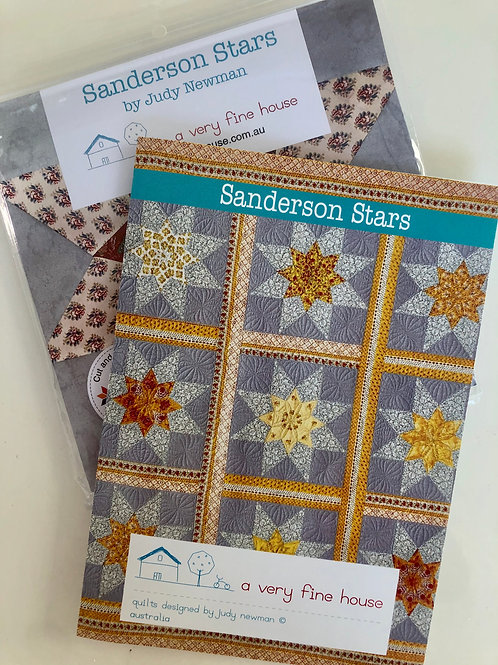 Sanderson Stars Pattern and Template Set
