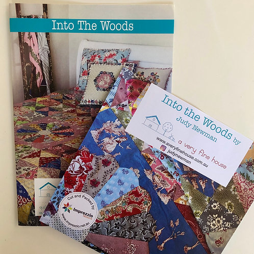 Into the Woods Pattern and Template/Papers