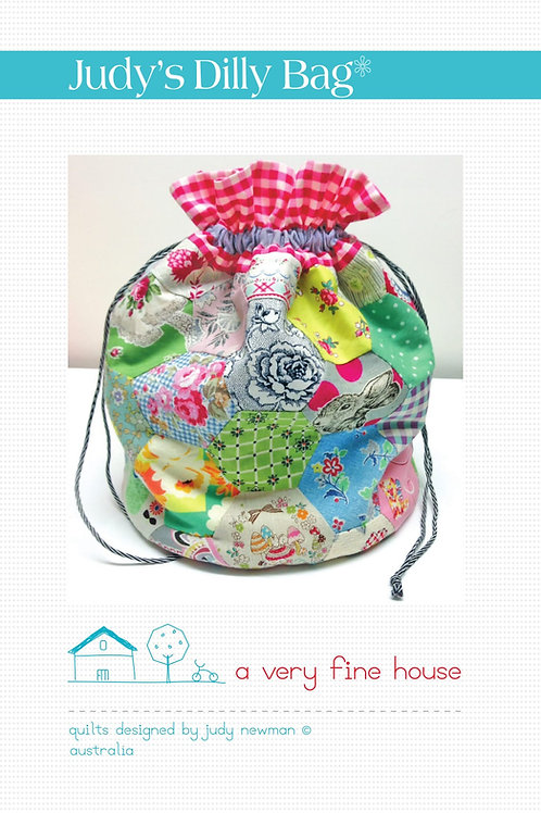 Vintage Dilly Bag Pattern & Template
