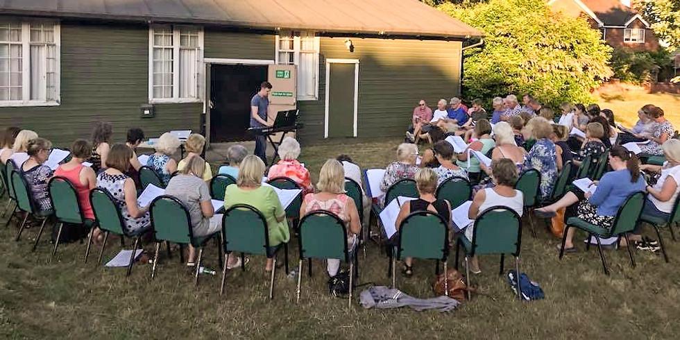 Choir Tuesday 15th June (Outdoors)