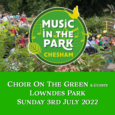 3rd July - Music In The Park