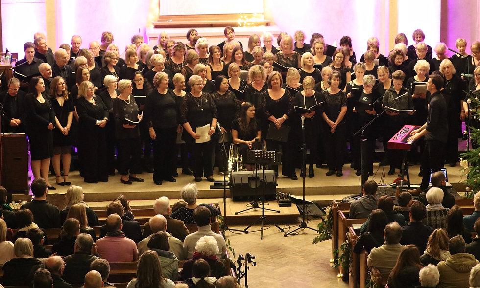 Choir On The Green concert