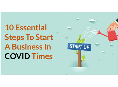 10 Essential Steps To Start A Business In COVID Times
