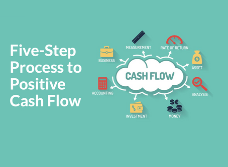 Negative Cash Flow in Your Business? Discover our Five-Step Process to Positive Cash Flow