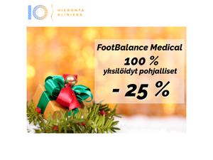 100% yksilöidyt pohjalliset | Hieronta IO-Klinikka