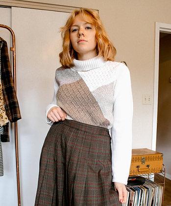 Medium patchwork sweater