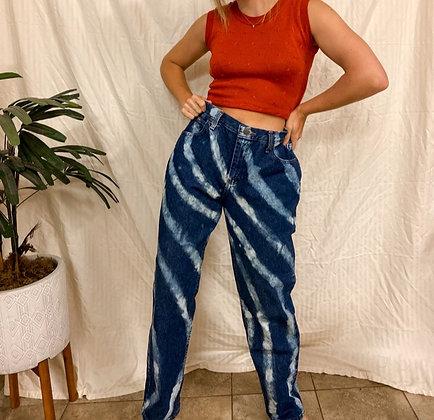 Large vibing jeans