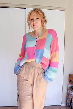 XL springtime cardigan