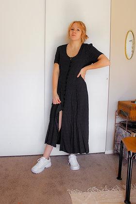 Large 90s printed midi dress