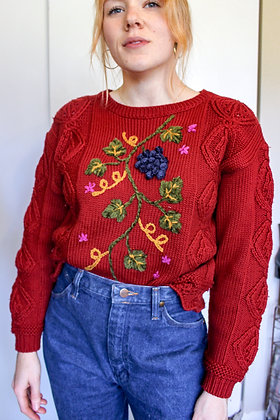 Small fruit sweater